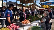Başkan Erdem, pazarı esnafıyla buluştu!